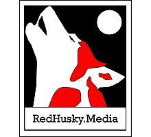 Red Husky Media Logo Photographic Print