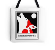 Red Husky Media Logo Tote Bag