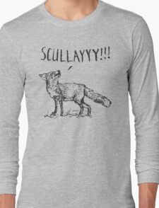 What a Certain Fox Says Long Sleeve T-Shirt