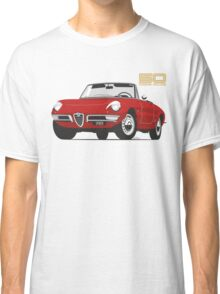 Alfa Romeo Duetto Series 1 Spider red Classic T-Shirt