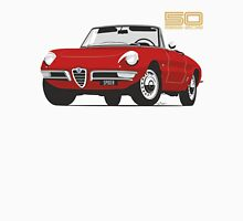 Alfa Romeo Duetto Series 1 Spider red Unisex T-Shirt