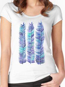 Indigo Seaweed Women's Fitted Scoop T-Shirt