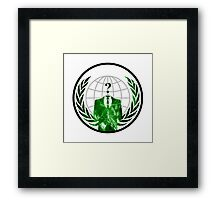 Anonymous Logo Framed Print