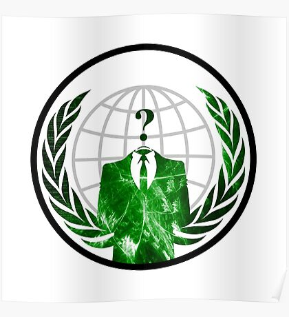 Anonymous Logo Poster