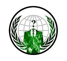 Anonymous Logo Photographic Print