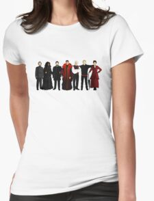 Doctor Who - The Seven Masters Womens Fitted T-Shirt