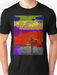 Below the Never. Unisex T-Shirt