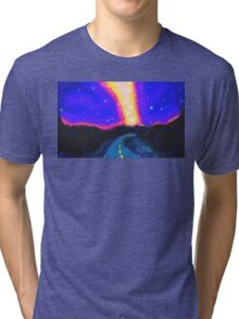 From the Road to the Milky Way Tri-blend T-Shirt