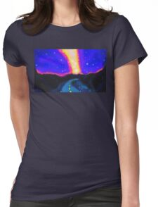 From the Road to the Milky Way Womens Fitted T-Shirt
