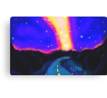 From the Road to the Milky Way Canvas Print
