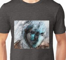 In the seeing, saw Unisex T-Shirt