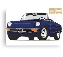 Alfa Romeo Series 2 Spider blue Canvas Print