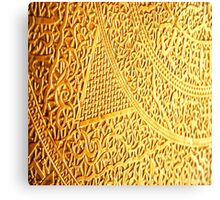 Gold Pattern Canvas Print