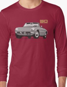 Alfa Romeo Series 2 Spider silver Long Sleeve T-Shirt