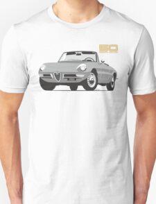 Alfa Romeo Series 2 Spider silver Unisex T-Shirt