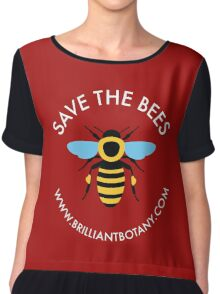 Save the Bees - Honey Bee Chiffon Top