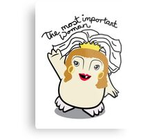 Dr Who Donna Noble Adipose Bride Metal Print