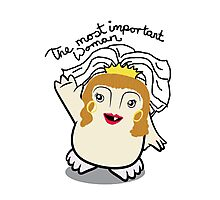 Dr Who Donna Noble Adipose Bride Photographic Print