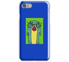 Penguin with Glasses iPhone Case/Skin