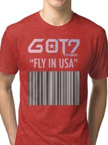 GOT7 FLY IN USA Tri-blend T-Shirt