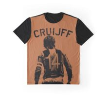 Johan Cruyff the Orange back. Graphic T-Shirt