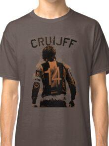 Johan Cruyff the Orange back. Classic T-Shirt