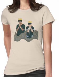 Louis the Child Design Womens Fitted T-Shirt