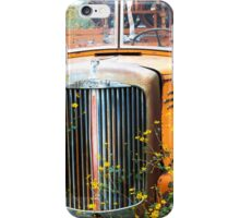 Fire Truck  and Flowers iPhone Case/Skin