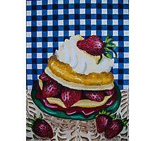 Strawberry dreams Photographic Print
