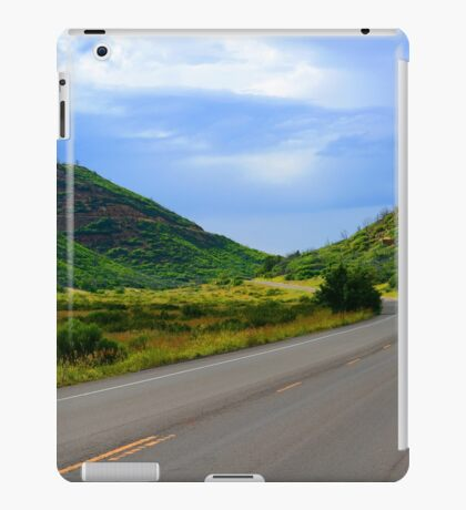 Green Road iPad Case/Skin