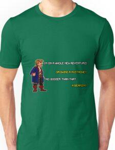 Guybrush Threepwood - Mustache Quote Unisex T-Shirt