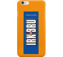IRN BRU iPhone Case/Skin