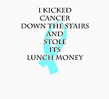 Cancer Bully (Light Blue Ribbon)  Unisex T-Shirt