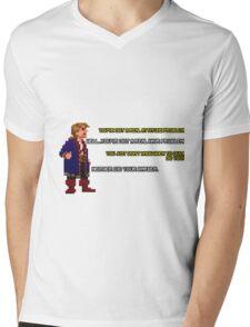 Guybrush Threepwood vs Meathook Mens V-Neck T-Shirt