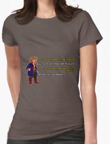 Guybrush Threepwood vs Meathook Womens Fitted T-Shirt
