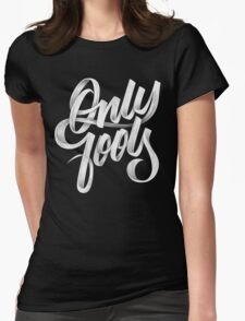 ONLY FOOLS Womens Fitted T-Shirt