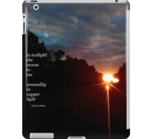 In Twilight iPad Case/Skin
