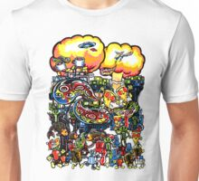 Pizza, Robots, and a crazy bunch of other stuff... Unisex T-Shirt