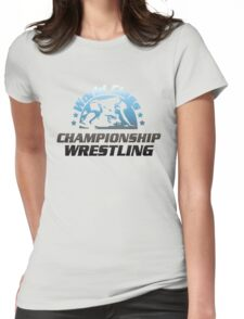 World Class Championship Wrestling t-shirt Womens Fitted T-Shirt