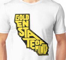 Golden State of Mind Black/Yellow Unisex T-Shirt