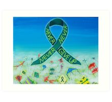 Kidney Disease Awareness Art Print