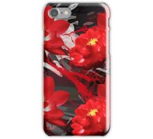 Red lotus flowers iPhone Case/Skin