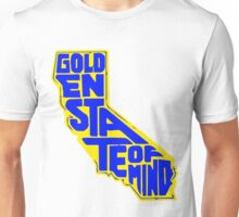 Golden State of Mind Yellow/Blue Unisex T-Shirt
