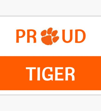 Proud Tiger Sticker