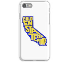 Golden State of Mind Blue/Yellow iPhone Case/Skin