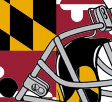 Maryland Football Helmet Sticker