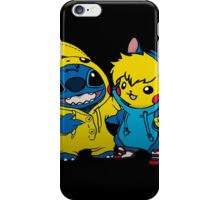 pika&stitch  iPhone Case/Skin