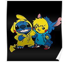 pika&stitch  Poster
