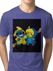 pika&stitch  Tri-blend T-Shirt