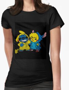 pika&stitch  Womens Fitted T-Shirt